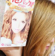 Hikari Hajimari Palty Hair Dye In Custard Beige Review