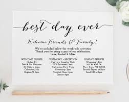printable wedding itinerary template wedding weekend Wedding Week Itinerary Template printable wedding itinerary template, wedding weekend itinerary, wedding timeline, destination wedding itinerary, wedding week itinerary template design