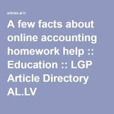 an overview of costaccounting assignment help equity method  a few facts about online accounting homework help financial accounting help homework