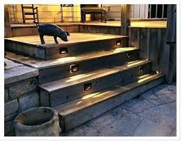 outdoor stairs lighting. Outdoor Stair Lights Deck Stairs Lighting  For Rail Solar Low Outdoor Stairs Lighting I