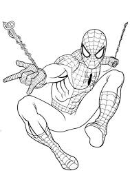 Disegni Da Colorare Di Spiderman 1 Disegno