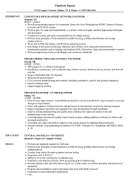 Engineer / Programmer Resume Samples | Velvet Jobs
