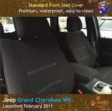 custom fit waterproof neoprene jeep grand cherokee front seat covers
