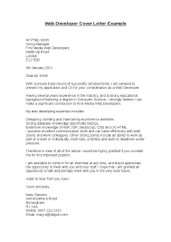Sample Cover Letter For Web Developer Job Resume Examples Templates ...