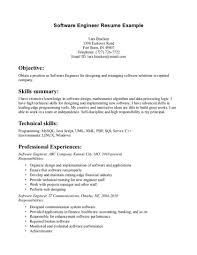 Programmer Resume Sample Programmer Entry Level Sample Job Description Templates Resume For 79