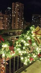 balcony lighting decorating ideas. Cool Christmas Balcony Decor Ideas Lighting Decorating
