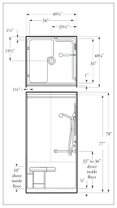 excellent ada shower stall shower stall shower stall shower dimensions inside design handicap shower stall size