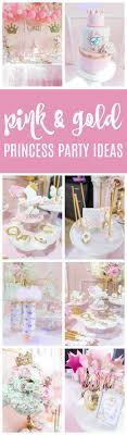 Pink And Gold Princess Birthday Party Pretty My Party