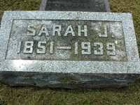 Sarah Jane (Sadie) Lowe (Vaughn) (1851 - 1939) - Genealogy