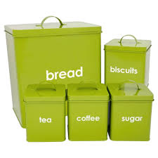 Lime Green Kitchen Canisters Shop Kitchen Accessories With Price Crunchers Free Uk Shipping