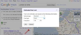Trip Planner Calculator Google Adds Fuel Cost Calculator To Maps In Europe Cost2go