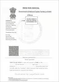 Make A Rental Agreement For Delhi