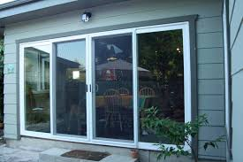 4 panel sliding patio doors type