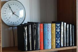 We grew up in a family of readers, and our mother saves every book she's  ever read. She has bookshelves everywhere, books stacked on the floor and a  ...