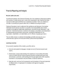 Corporate Financial Statement Template