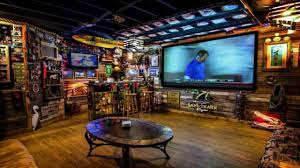 Comfy Size X Man Cave Ideas Man Cave Basement Game Man Cave Ideas Man Cave  in