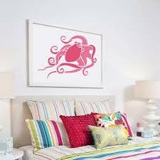 octopus wall art stencil reusable stencils for walls small