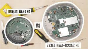 <b>Zyxel</b> NWA-<b>1123AC</b> HD vs Ubiquiti nanoHD - high-performance ...