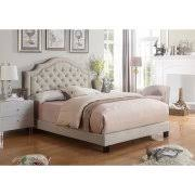 Alton Furniture Angelo Tufted Upholstered PanelPlatform Bed