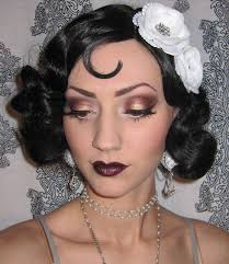 flapper makeup plumy golds so y definitely a contender in 1920s inspired look for