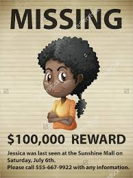 Poster Clipart Person Missing Missing Person