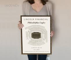 Eagles Seating Chart Philadelphia Eagles Lincoln Financial Field Seating Chart