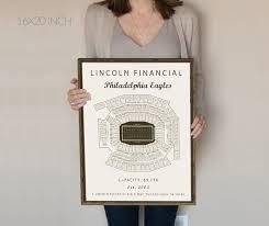 Philadelphia Eagles Seating Chart Philadelphia Eagles Lincoln Financial Field Seating Chart