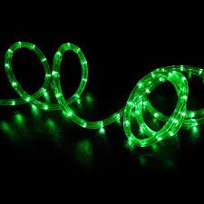 christmas rope lighting. Led Rope Light Green 50 Feet Christmas Lighting