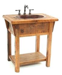 farmhouse bathroom sink faucets reclaimed wood country farm vanity vanities style faucet