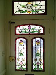 front door front door insert stained glass doors ideas panels