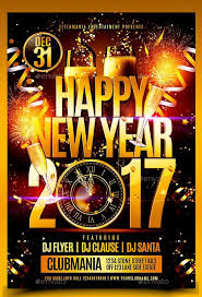 New Year Flyers Template 2017 Happy New Year Flyer Template Happy New Year Flyer