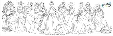 simplified disney princess coloring pages all depetta 201 inside page sharry for girls