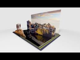 Popup Book Templates Cinema 4d C4d Pop Up Book Best After Effects Templates Youtube