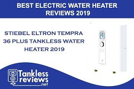 Electric Tankless Water Heater Comparison Chart Eventize Co