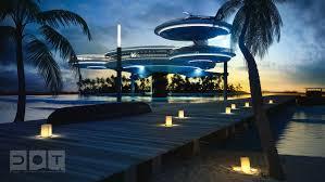 real underwater hotel. Courtesy Of Deep Ocean Technology Real Underwater Hotel