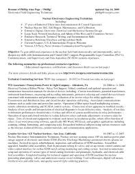 Sample Resume For Electronics Technician Sample Resume For Electronics Technician Zrom Tk Avionics System