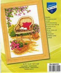 Vervaco Cross Stitch Charts Vervaco Cross Stitch Kit Wicker Chair