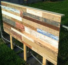 Bench Out Of Headboard Pallet Headboard Tutorial