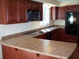 kitchen backsplash cherry cabinets black counter. Dark Cherry Cabinets With Quartz Countertops What Is Best Wood Floor Color For Kitchen Tile Backsplash Black Counter E