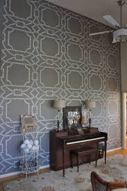 stenciled wall by bella tucker decorative finishes