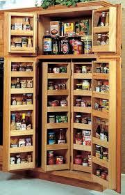 Tall Kitchen Utility Cabinets Tall Solid Pine Kitchen Cabinet Pantry Tracksbrewpubbramptoncom