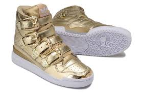 adidas shoes 2016 gold. adidas running shoesus x jeremy scott metal buckle couples shoes gold white leisure 2016 e