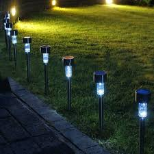 Red Solar Pathway Lights Us 13 09 35 Off Chincolor 4pcs Solar Lamp Solar Light Rgb White Red Blue Led Garden Landscape Path Pathway Lights Lawn Outdoor Lamp Ea In Solar