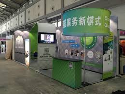 Led Light Box Display Stand Exhilite exhibitionbooth in 100nd China international advertising 66