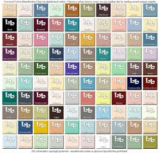 Universal Bathroom Colour Chart All Makes Discontinued