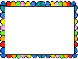 Colorful Frames Borders For Your Main Cover By Play Based Learning