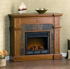 electric fireplace mantel design stacked stone heater with