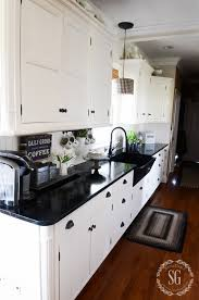 fabulous and functional kitchen counters clean kitchen counters stonegableblog 2