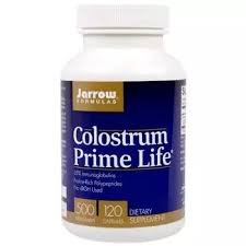 Colostrum <b>Prime Life 500</b> mg 120 Capsules - Jarrow Formulas