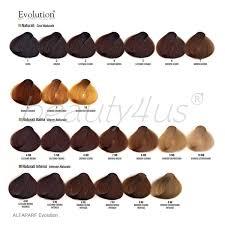 Inoa Supreme Color Chart Alpaparf Eoc Colour Chart D050719 Alfaparf Permanent